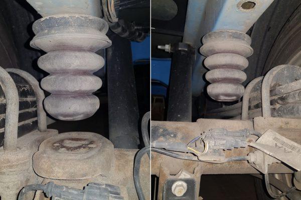 Отбойник рессоры Ford Transit 2014-н.в. спарка задний привод