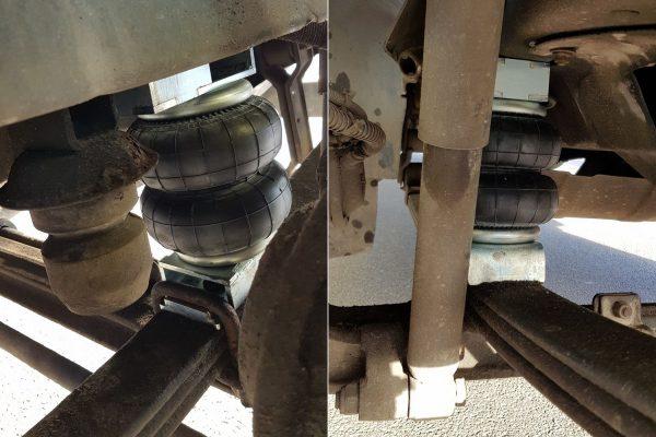 Передняя пневмоподвеска Aride на GAZon NEXT