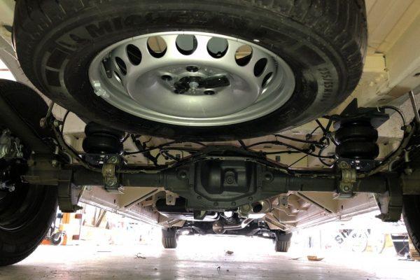 Пневмоподвеска задняя VW Crafter 4x4 2017-
