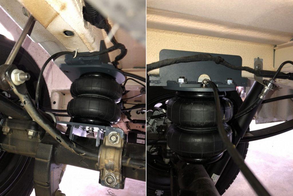 Пневмоподвеска VW Crafter 4x4 2017- задняя ось