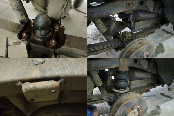 Подвеска Ford Ranger 2006-2012 2