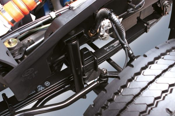 Устройство передней подвески Hyundai HD120