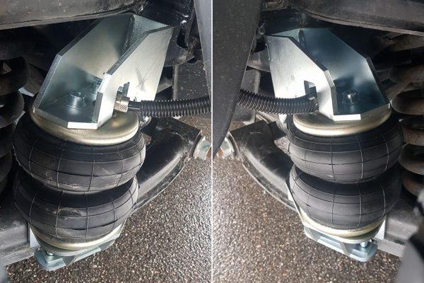Установка пневмоподушек на GAZelle New NEXT передняя ось