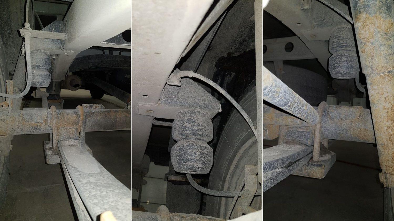 03042 ✘ Задняя рессорная подвеска УАЗ «Профи»