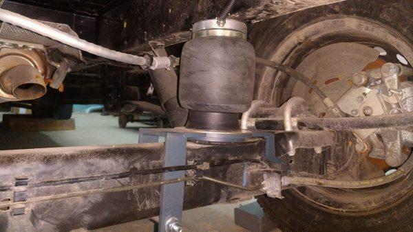 Airbags für Hinterachse Ford Tourneo Custom