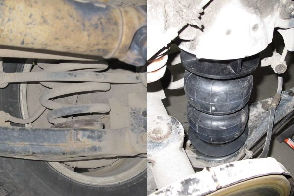 Пневмоподушка 160D2 вместо задней пружины Hyundai Starex, Hyundai H-1