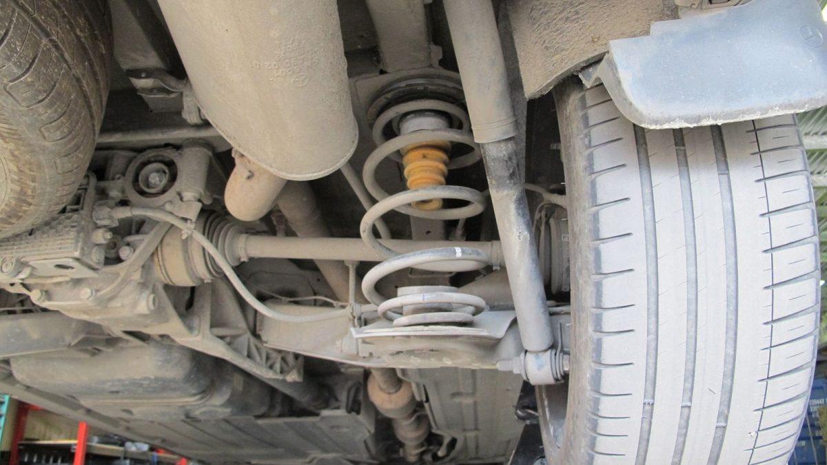 41040 ✘ Задняя подвеска Mercedes V-Class 2004-н.в. (02)