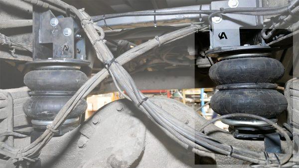 Pneumohelpers rear Mercedes-Benz Atego 7xx-12xx 1998-2013