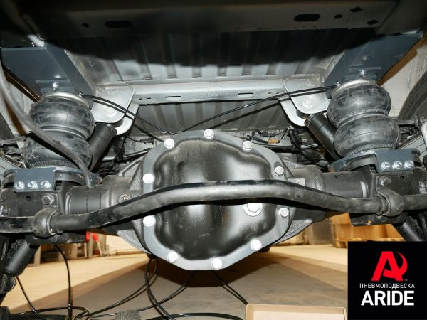 Suspension pneumatique arrière Renault Master 3-4