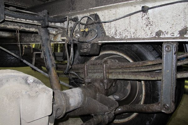 Rear axle Renault Mascott