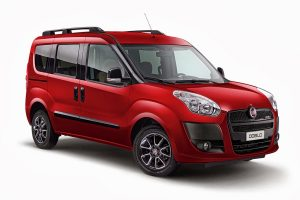 Fiat Doblo 2010 Panorama Red