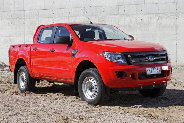 Ford Ranger 2011 двойная кабина