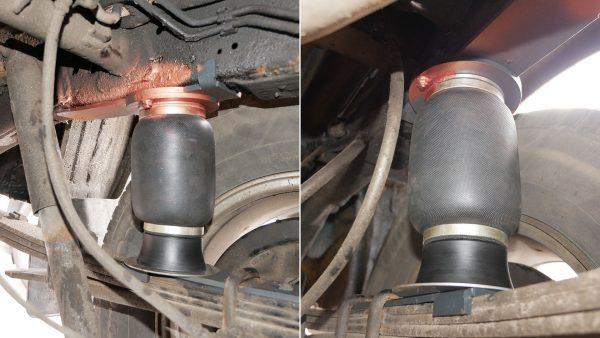 44010 ✘ Задняя комфорт-пневмоподвеска Nissan Navara D40