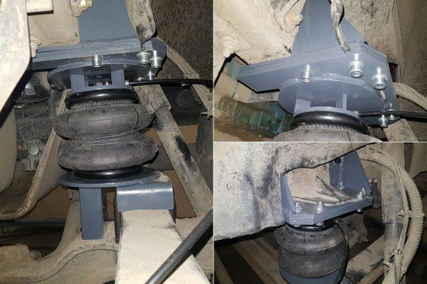 Установка передней пневмоподвески на ГАЗон Некст 10 т