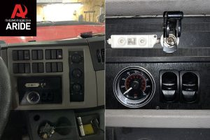Cистема управления 2.OB.PS в салоне Volvo FL240