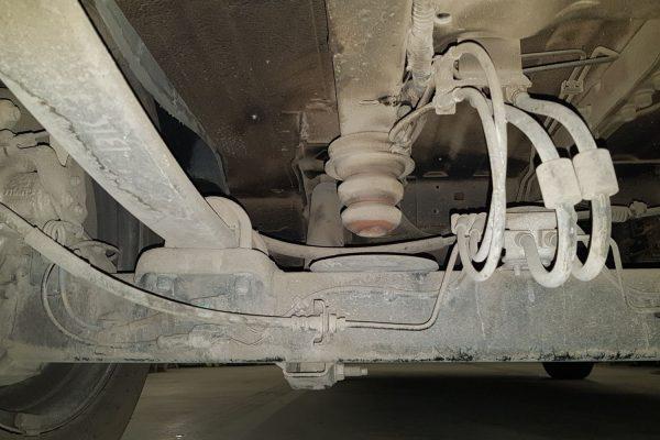 24092 ✘ Задняя балка с рессорами Ford Transit FWD 2014-н.в. (03)