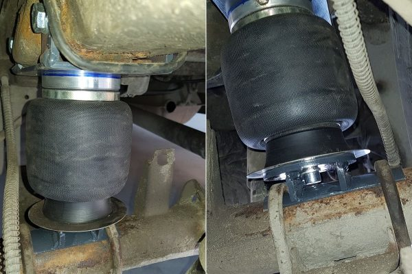 Пневмоподушки задней рессорной подвески Hyundai Starex, H-1 (1996-)