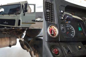 1.OB.PS ✘ Подключение системы управления в кабине МАЗ-4370 «Корнет»