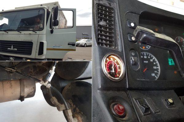 Подключение системы управления 1.OB.PS в кабине МАЗ-4370 «Корнет»