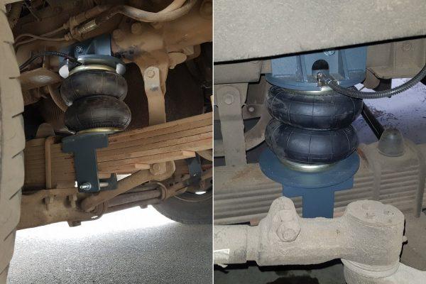 Установка пневмоподушек кабины МАЗ-4370 «Корнет»