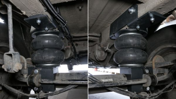 """Airbags an der Hinterachse """"Mercedes Sprinter"""" 2006-heute"""
