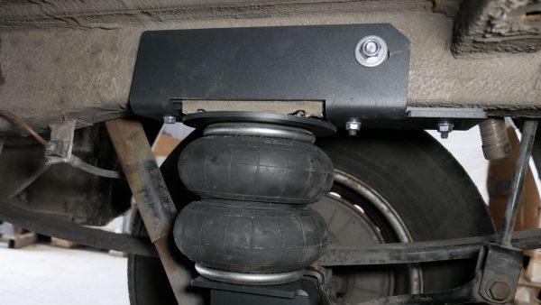 Pneumohelper Aride on Mercedes Sprinter 313 W906