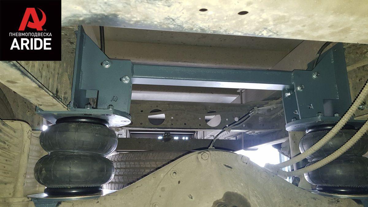 43012 ✘ Монтаж пневмоподушек на Fuso Canter Euro 5