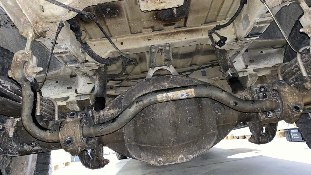 Rear Axle Volkswagen Crafter 50 Spark 2017-
