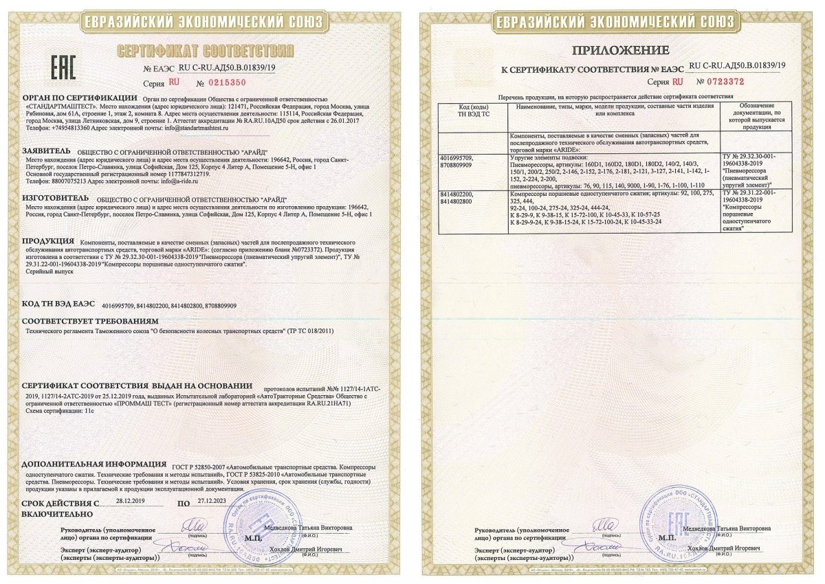 Сертификат РФ 2019 (стр.1-2)