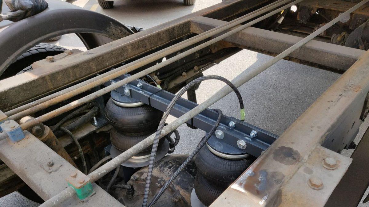 05010 ✘ КАМАЗ «Камазёнок» установка пневмоподушек в Минске