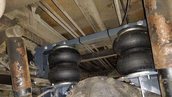 05010 ✘ КАМАЗ 4308 установка задней пневмоподвески