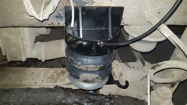 05013 ✘ Установка передней пневмоподвески на КАМАЗ «Камазёнок»