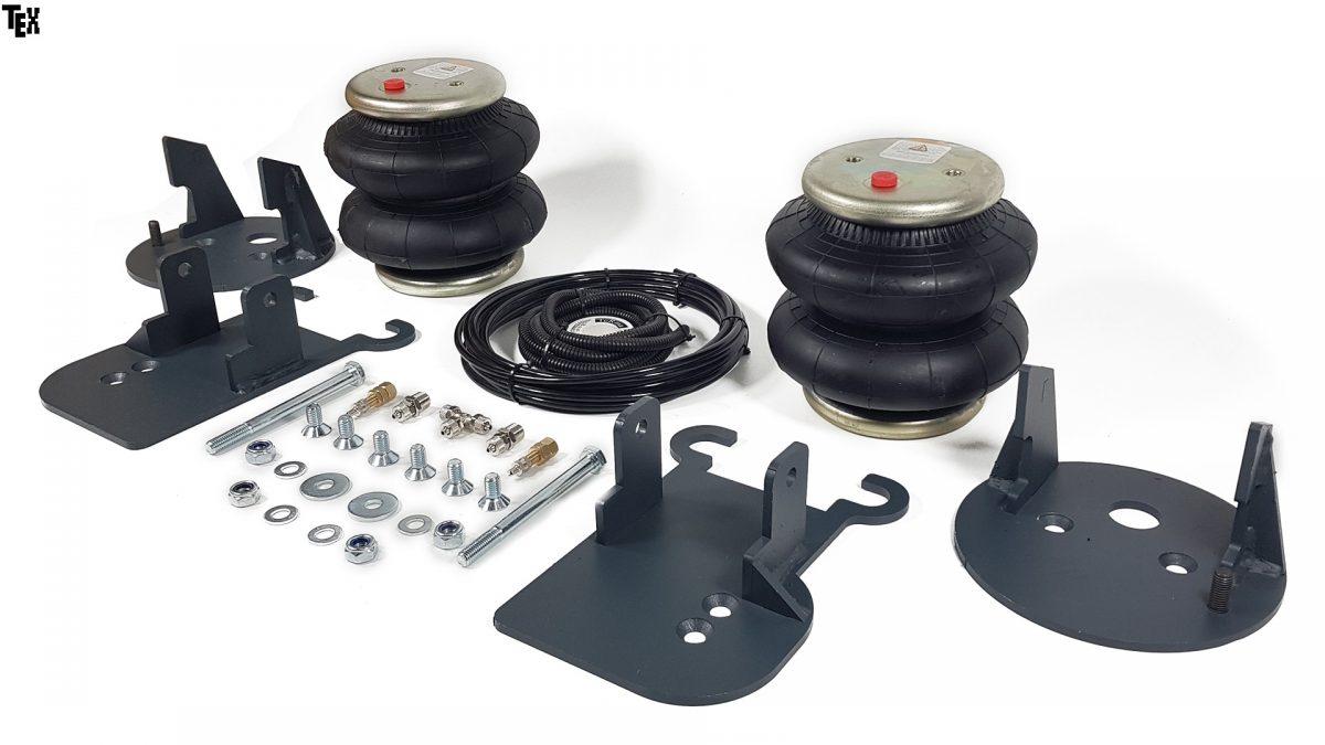05015 ✘ Комплект передних пневмохелперов Aride на КАМАЗ 4308