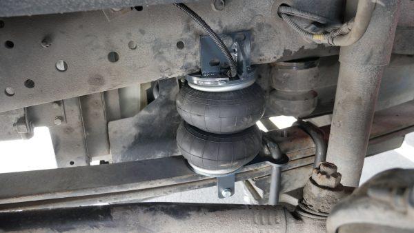 05015 ✘ Установка передних пневмоподушек на КАМАЗ 43255