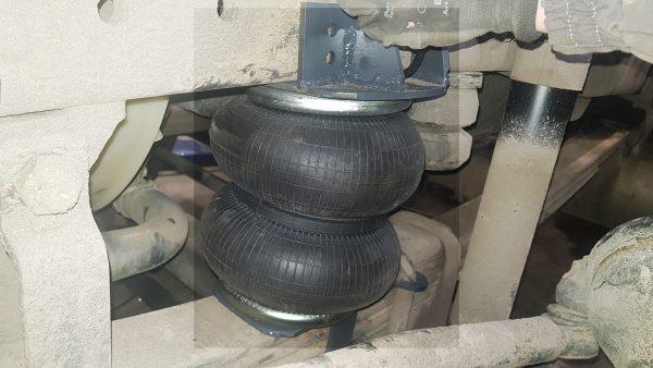 05023 ✘ Установка пневморессор на КАМАЗ 65115