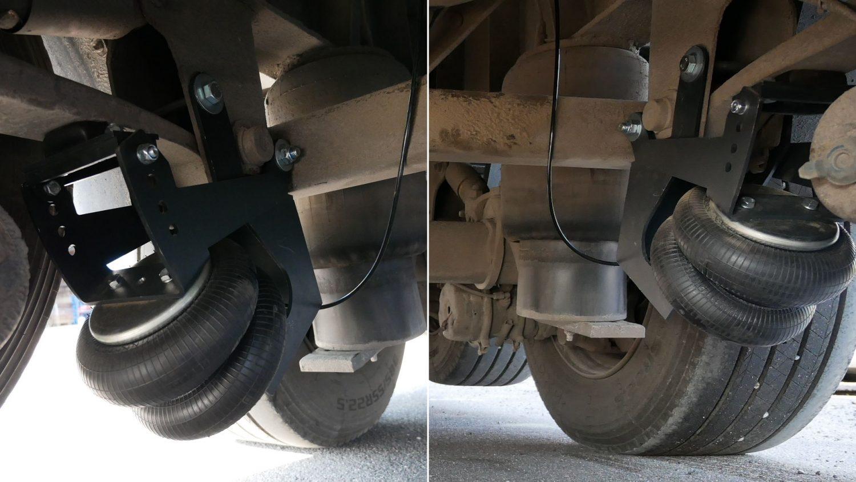 SAF axle hoist for Schmitz semi-trailer
