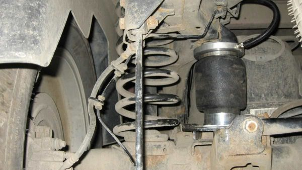 Installing air suspension on Dodge RAM 1500 2009-2018
