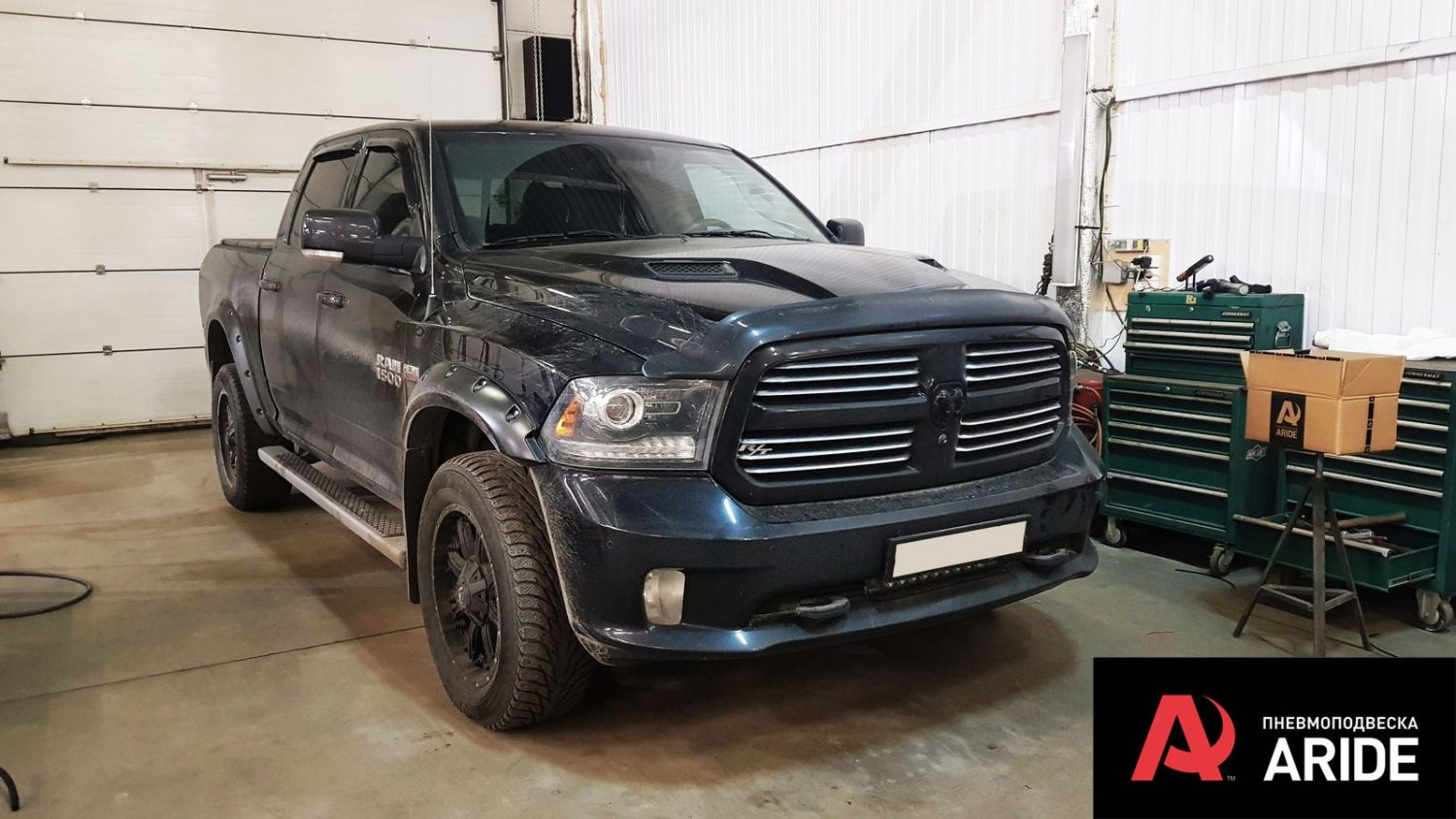 Air suspension installation project for Dodge RAM 1500 IV
