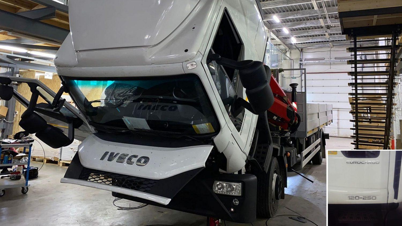 Cabina Iveco EuroCargo 2021