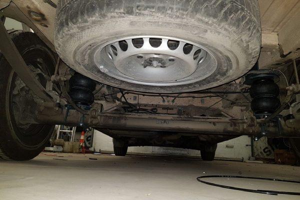 Пневмоподвеска VW Crafter 2017- задняя ось